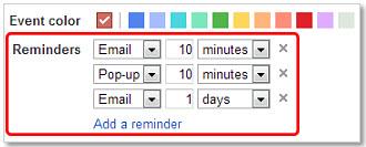 Google Calendar - เทคนิคการตั้งค่าการแจ้งเตือน (Event Reminders)
