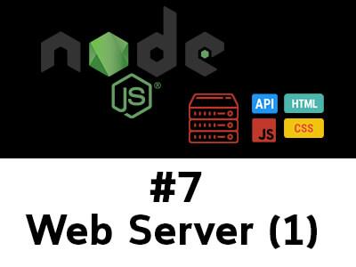 สอน Node.js ตอนที่ 7 ใช้ HTTP + FS สร้าง Web Server แบบ Static Webpage