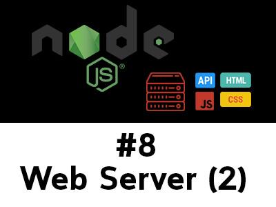 สอน Node.js ตอนที่ 8 HTTP + URL + FS สร้าง Web Server แบบ Static Web Page หลายหน้า