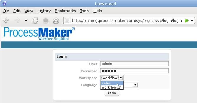 Processmaker - สอน processmaker ตอนที่ 3.1 การตั้งค่า processmaker - Workspaces