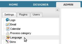Processmaker - สอน processmaker ตอนที่ 3.2 การตั้งค่า processmaker - Languages