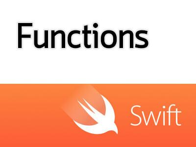สอน Swift ตอนที่ 5.1 ฟังก์ชั่น (Functions)