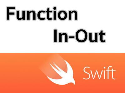 สอน Swift ตอนที่ 5.3 Function รู้จักกับ In-Out Parameters